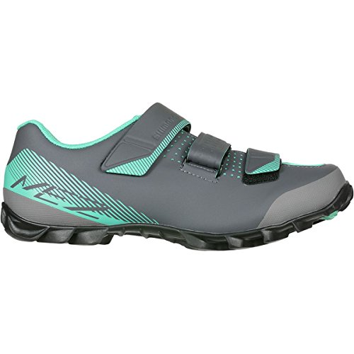 SHIMANO SH-ME2 Women's Mountain Enduro SPD Cycling Shoes - Black/Green - 41