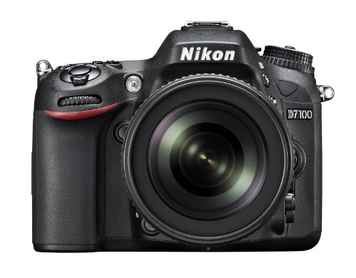 Nikon D7100 24.1 MP DX-Format CMOS Digital SLR with 18-105mm f/3.5-5.6 Auto Focus-S DX VR ED Nikkor Lens (Best Lenses For Nikon Dx Format)