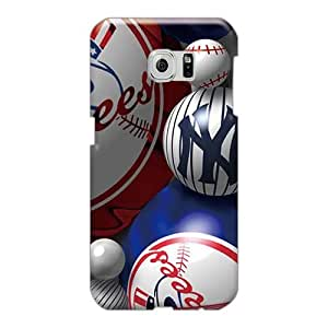 New Arrival Case Cover With Cbn1575pMCH Design For Sumsang Galaxy S6 Edge- New York Yankees