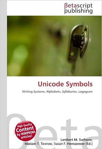 Unicode Symbols: Writing Systems, Alphabets, Syllabaries, Logogram ...