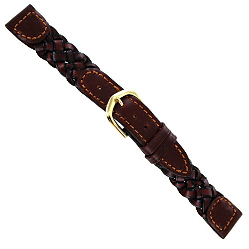 16mm Hirsch Genuine Leather Braided Brow - Braided Womens Watch Shopping Results