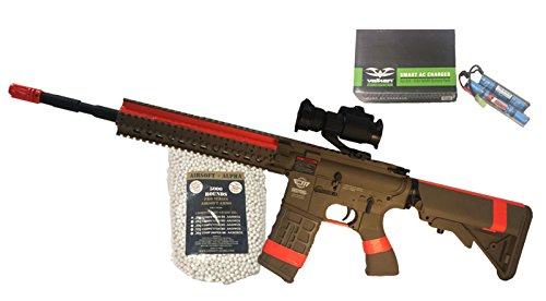 G&G CM-16 R8-L Tan Airsoft Alpha Viper Package (NY/CA Compliant) by AirsoftAlpha