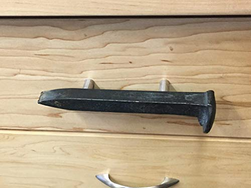 Railroad Spike Drawer Pull, Drawer Pull, Rustic Drawer Pull, cabinet handle