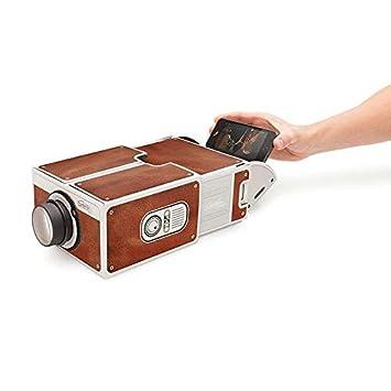 sahnah Mini Portable Cardboard Smart Phone Projector 2.0 Mobile ...