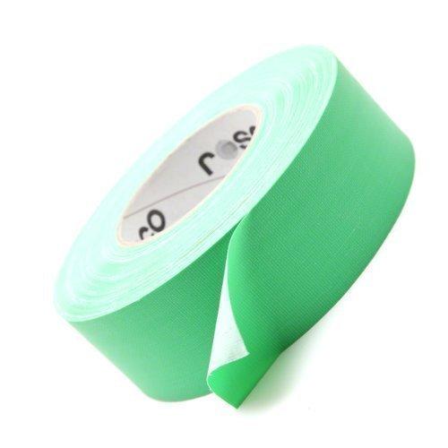 Rosco Chroma Key Green Tape. 50m Roll. Video FX Self-Adhesive Gaffer Tape ()