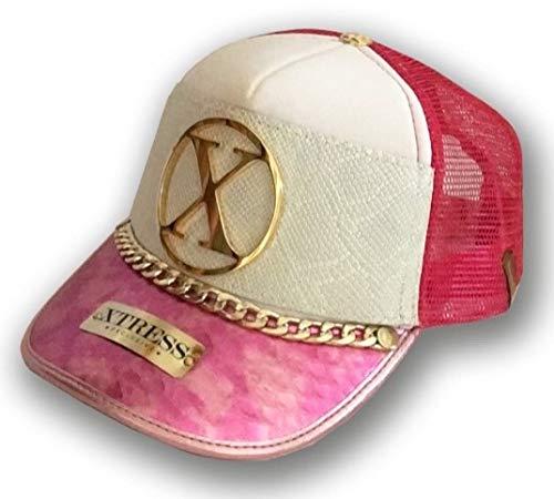 Gorra blanca y rosa para hombre y mujer.: Amazon.es: Ropa y accesorios