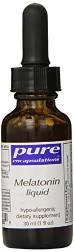Pur Encapsulations mélatonine liquide 1 oz (30 ml)