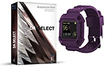 D.A. Select Blaze Accessory Replacement Band for Fitbit Blaze wristband Smart Watch Fitness Strap - (New Purple)