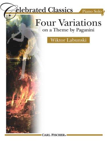 Four Variations on a Theme by Paganini (Variations On A Theme By Paganini Sheet Music)