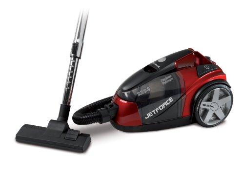 Ariete Jet Force - vacuum cleaners (Cylinder, Home, Black, Red, HEPA, Bagless)
