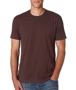 Next Level Mens Premium Fitted Short-Sleeve Crew T-Shirt - Medium - Dark Chocolate