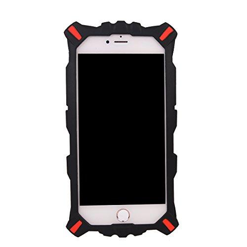 COOLKE Mode 3D Style Cartoon Gel Soft silicone Coque Housse étui Case Cover Pour Apple iPhone 7 Plus (5.5 inches) - Noir