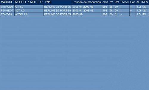 ETS-EXHAUST 2534 Silencieux arriere pour C1 1.0 2005-2009 // 107 1.0 2005-2009 // AYGO 1.0 2005-