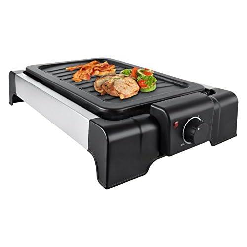 Kalorik Design Barbecue de table avec thermostat réglable, 1500W