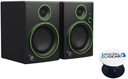 "Pair Mackie CR5BT 5/"" Multimedia Monitor with Bluetooth"
