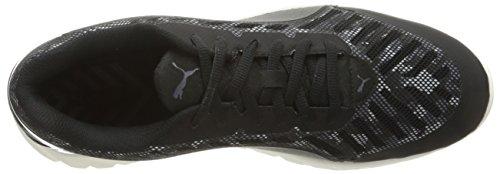 Puma Mens Ignite Ultimate Cam Running Shoe Puma Black/Periscope