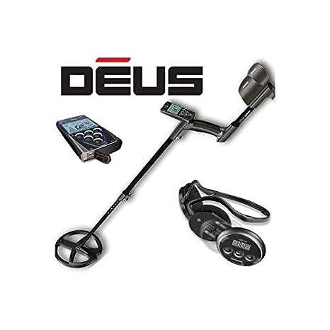 Detector de metales XP DEUS Full, con electrónica y Auriculares WS4, inalámbrico.: Amazon.es: Bricolaje y herramientas