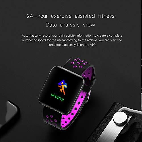 Amazon.com: S88 Men Women Smart Watch Reloj Inteligente Passometer Activity Fitness Heart Rate Sports Smartwatch Wristband,E: Electronics