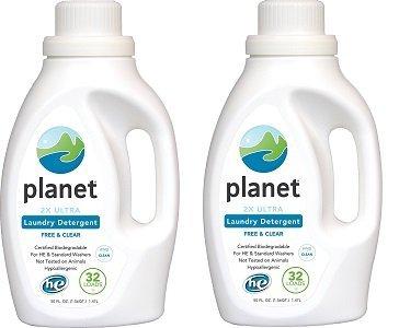 Planet 2 x Ultraランドリー洗剤、無香料、50 Fluid Ounce (Pack of 4 ) 2-(Pack) B07G1R9HQ5  2-(Pack)