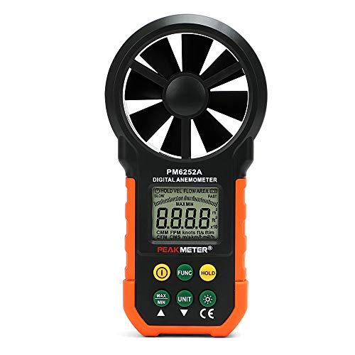 - POWERGIANT Handheld Digital Anemometer, Wind Speed Gauge, Air Flow Meter Velocity Speed Measuring Device for Sailing Windsurfing Kiteflying Surfing Fishing