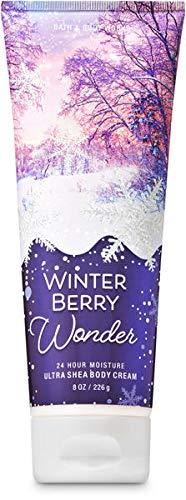 Bath & Body Works Winter Berry Wonder Ultra Shea Body Cream, 8 Ounce