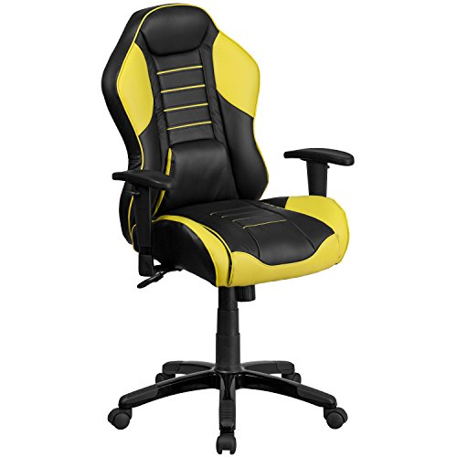 Flash Furniture High Back Canary Yellow Executive Gaming