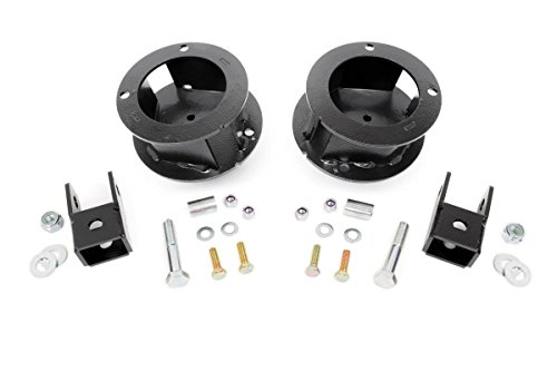 Rough Country - 377 - 2.5-inch Suspension Leveling Kit for Ram: 14-18 2500 4WD, 13-18 3500 4WD - Rough Country Leveling Kit