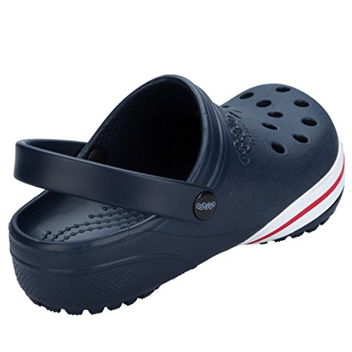 Crocs , Jungen Schnürhalbschuhe blau marineblau