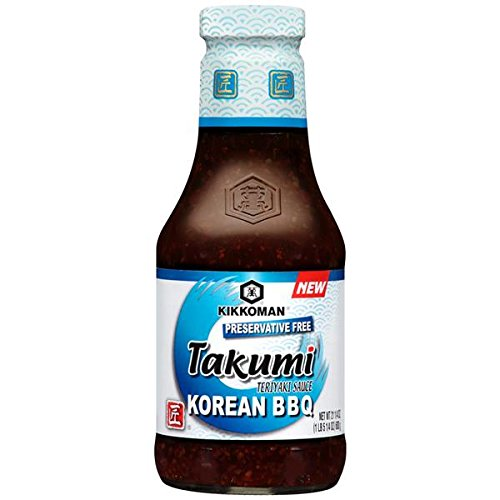 Kikkoman Takumi Teriyaki Korean Bbq Sauce, 21 Ounce (Pack Of 1)