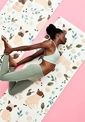 RTT Esterilla Yoga, Superficie de Microfibra Colchoneta de ...