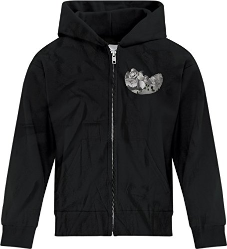 Price comparison product image BSW Youth Girls Mount Gamemore Gamer Zip Hoodie XL Black