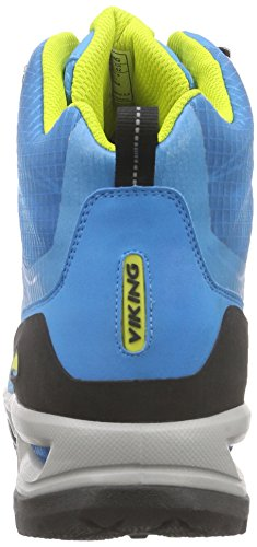Viking Kuling Mid Gtx - Botas de senderismo Hombre Azul - Blau (Blue/Yellow 3513)