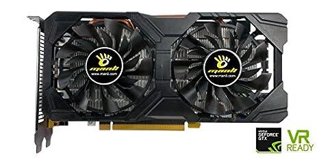 Manli NVIDIA GeForce GTX 1060 - Tarjeta gráfica GF GTX 1060 ...