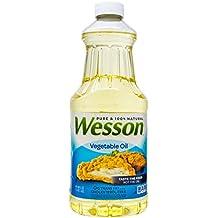 Wesson Vegetable Oil, 48 oz