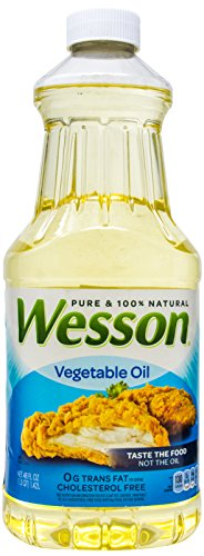Wesson Vegetable Oil, 48 oz (Oil Wesson)