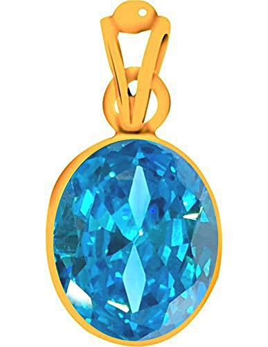 Divya Shakti 9.25-9.50 Carat Aquamarine/Beruj Stone Panchadhatu Pendant 100% Original AAA Quality Gemstone by Divya Shakti (Image #3)