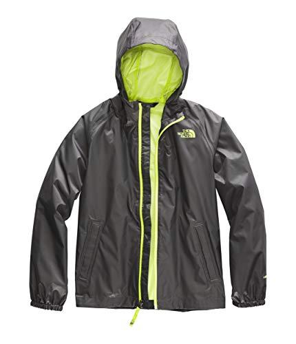 The North Face Kids Boy's Zipline Rain Jacket (Little Kids/Big Kids) Graphite Grey X-Large