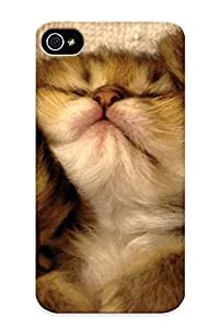 Inthebeauty Brand New Defender Case For Iphone 4/4s (cats Animals Sleeping Feline Kiens Pets ) / Christmas's Gift