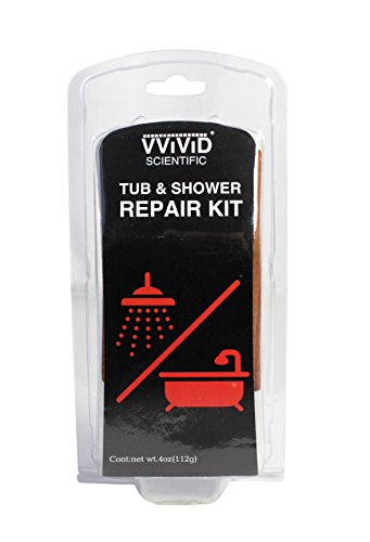 VViViD Do-It-Yourself Tub and Shower Repair Kit (Ivory Epoxy)