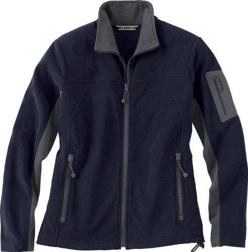 Womens Microfleece Full Zip Jacket - Ash City - North End Womens Full-Zip Microfleece Jacket (78048) -MIDN NAVY -XL