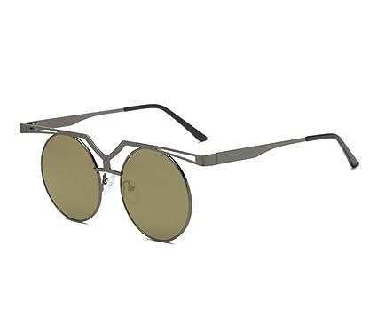 Gafas de sol redondas no polarizadas del marco de la ...