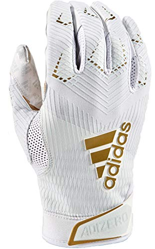 adidas Adizero 8.0 Football Receiver's Gloves White Large