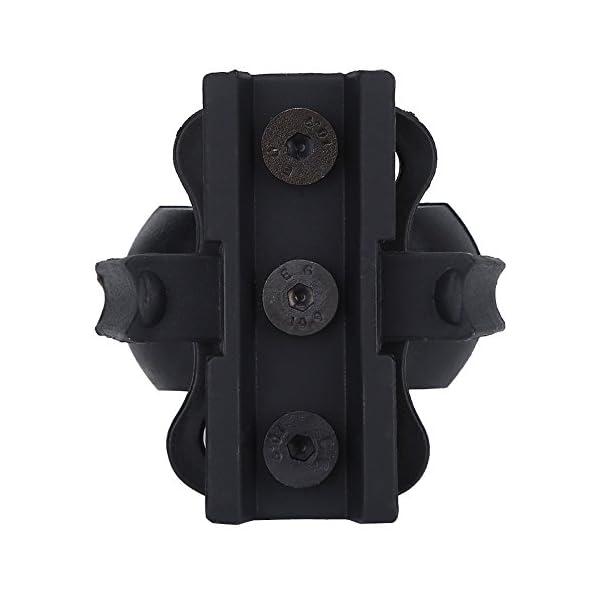 VGEBY Abrazadera de Linterna Casco Soporte de Montaje para Casco 3