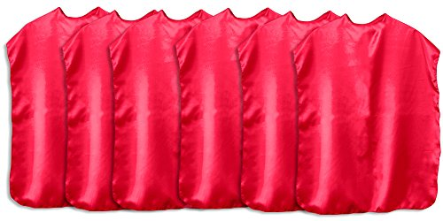 Your Own Costume Superhero Easy Make (Superhero Capes Children Set of 6 (All)