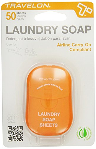 Price comparison product image Travelon Laundry Soap Sheets, 50-Count