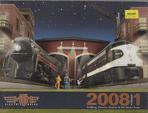 MTH Electric Trains 2008 Volume 1 Railking Premier Tinplate & HO Model Trains Catalog