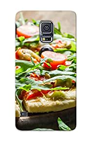Appearance Snap-on Case Designed For Galaxy S5- Homemade Pizza (best Gifts For Lovers)