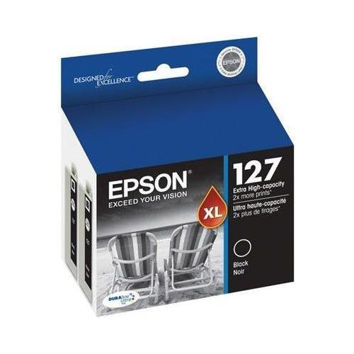 EPST127120D2 - Epson DURABrite T127120-D2 Ink Cartridge - Bl