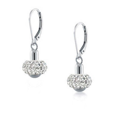 Pandora Drop Earrings: Bling Jewelry Sterling Silver Drop Leverback Earrings