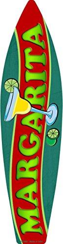 Smart Blonde Margarita Metal Novelty Surf Board Sign SB-060
